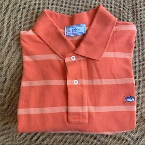 • southern tide • skipjack polo striped XL
